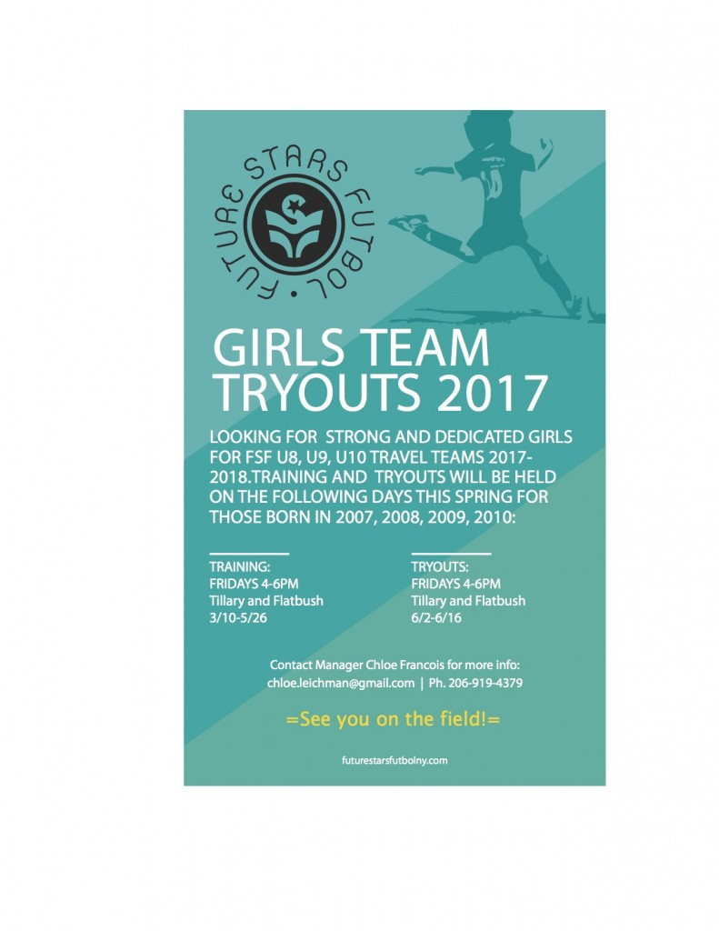 girls tryout